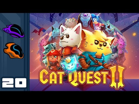 Let's Play Cat Quest 2 [Co-Op] - PC Gameplay Part 20 - Mini Me