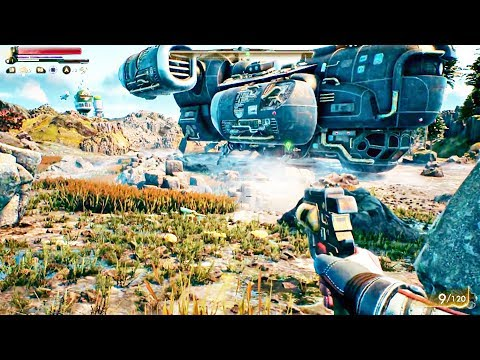 THE OUTER WORLDS - NEW EXCLUSIVE Gameplay Demo Walkthrough
