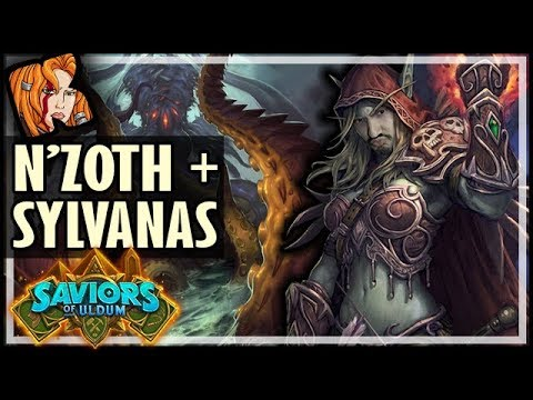 N'ZOTH + SYLVANAS BFFs! - Saviors of Uldum Hearthstone