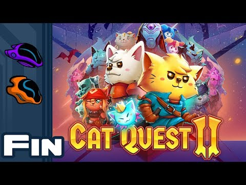 Let's Play Cat Quest 2 [Co-Op] - PC Gameplay Part 21 - Finale - Group Hug!