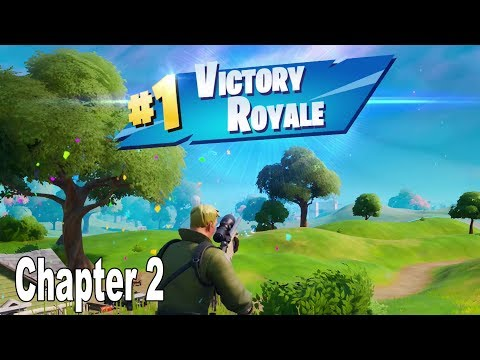 Fortnite - Chapter 2: Season 1 #1 Victory Royale Gameplay No Commentary [HD 1080P]