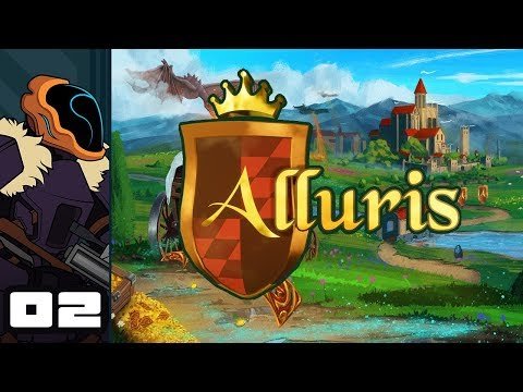 Let's Play Alluris - PC Gameplay Part 2 - When In Doubt? Fight The Unicorn