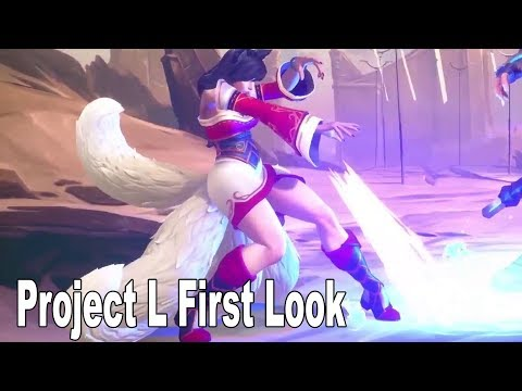 Riot Game's Project L - First Look Gameplay Teaser [HD 1080P]