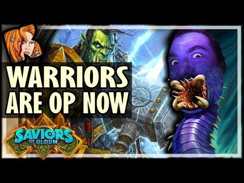HOW THEY MADE WARRIOR OP! - Saviors of Uldum Hearthstone
