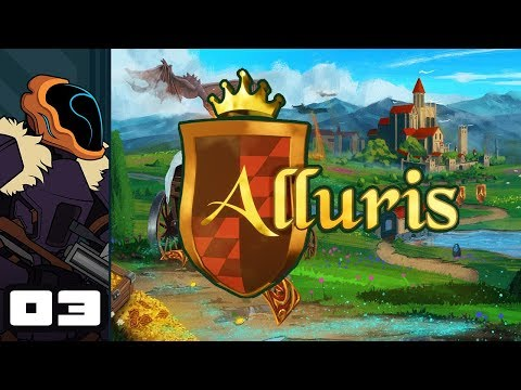 Let's Play Alluris - PC Gameplay Part 3 - A Living Disaster