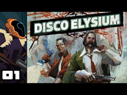 Let's Play Disco Elysium - PC Gameplay Part 1 - Utter Trashcop Speedrun Achieved