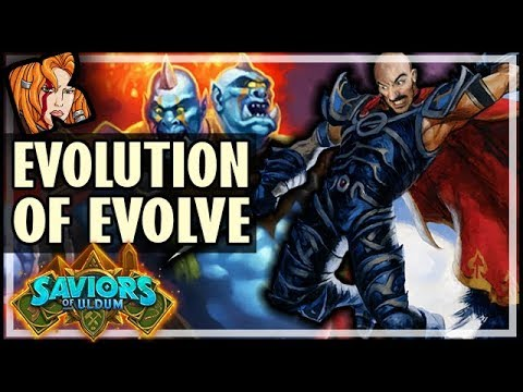THE EVOLUTION OF EVOLVE SHAMAN - Saviors of Uldum Hearthstone