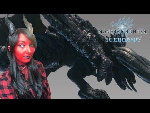 DEMON GIRL Vs Black Diablos! - Black Diablos Hunt - Monster Hunter World Iceborne Gameplay
