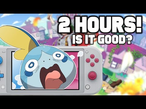 Pokemon Sword and Shield IS NOT Your Father's Pokemon...First 2 Hours!