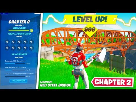 LEVEL UP FAST in SEASON 11! Fortnite Chapter 2 Tips and Tricks! (Fortnite Battle Royale)