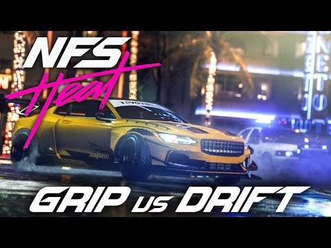 NEED FOR SPEED HEAT - GRIP VS DRIFT Comparison Gameplay