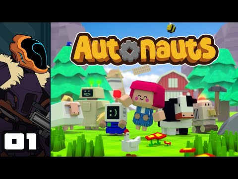 Let's Play Autonauts - PC Gameplay Part 1 - Making Skynet With Sticks And Stones