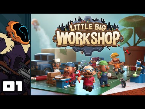Let's Play Little Big Workshop - PC Gameplay Part 1 - Gnomish Workshop Tycoon