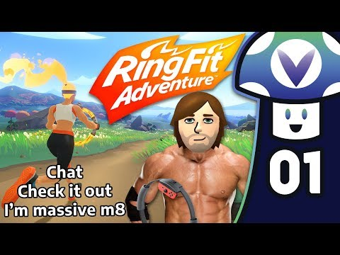 [Vinesauce] Vinny - Ring Fit Adventure (PART 1)