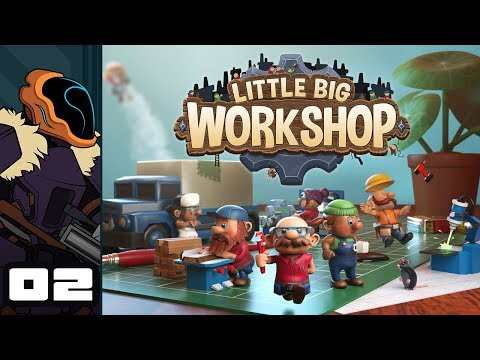 Let's Play Little Big Workshop - PC Gameplay Part 2 - Storage Woes