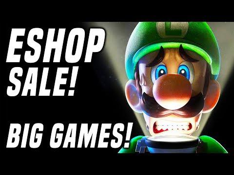 HUGE Switch eShop Sale ENDS NOW! Big Discounts + Halloween Games!