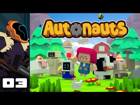 Let's Play Autonauts - PC Gameplay Part 3 - Vague Stability