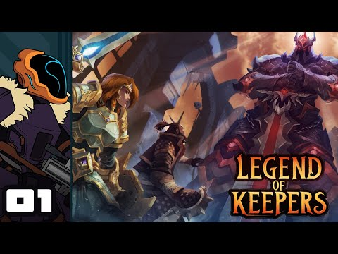 Let's Play Legend of Keepers: Prologue - PC Gameplay Part 1 - Defend Your Darkest Dungeon