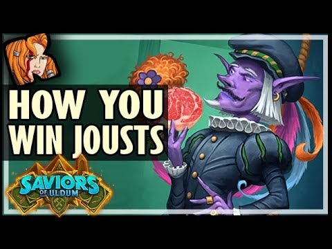 THIS IS HOW YOU WIN JOUSTS! - Saviors of Uldum Hearthstone
