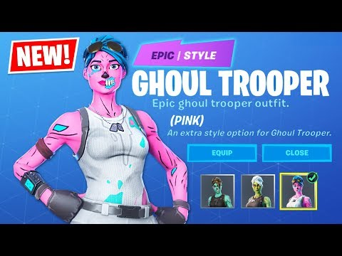 OG PINK GHOUL TROOPER!! New ITEM SHOP Update!! (Fortnite Battle Royale)