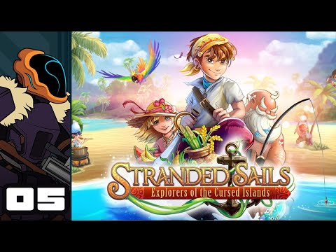 Let's Play Stranded Sails - Explorers of the Cursed Islands - PC Gameplay Part 5 - Go Feeesh!