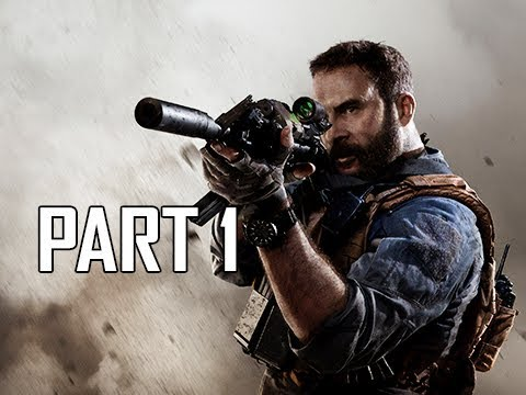 CALL OF DUTY MODERN WARFARE Walkthrough Part 1 - Full Game Intro