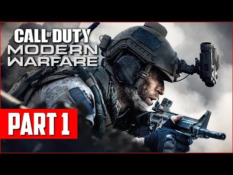 Call of Duty Modern Warfare Campaign Gameplay Walkthrough, Part 1! (COD MW PS4 Pro Gameplay)