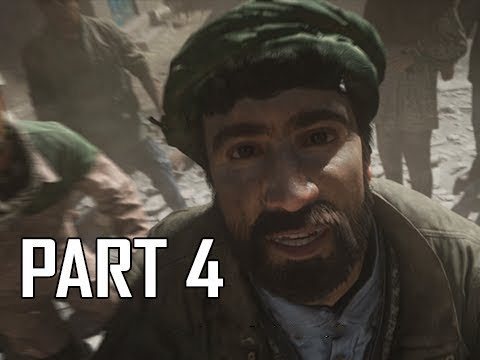 CALL OF DUTY MODERN WARFARE Walkthrough Part 4 - Baba