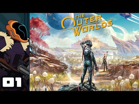 Let's Play The Outer Worlds - PC Gameplay Part 1 - Captain Kronk Saves The Worlds