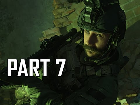 CALL OF DUTY MODERN WARFARE Walkthrough Part 7 - Gloves Off