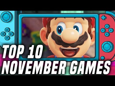 TOP 10 NEW Nintendo Switch Games Coming NOVEMBER 2019! + GIVEAWAY!