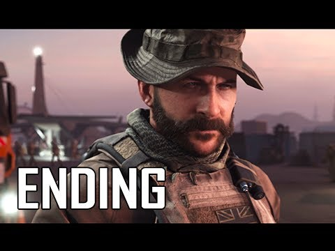 ENDING - CALL OF DUTY MODERN WARFARE Walkthrough Part 8