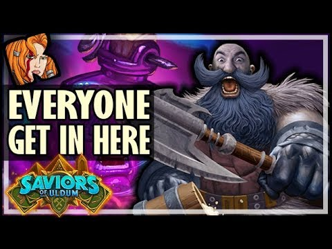 EVERYONE GET IN HERE! Patron Nostalgia! - Saviors of Uldum Hearthstone