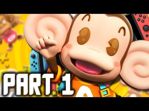 Super Monkey Ball Banana Blitz HD Part 1 - Monkey Ball Switch Gameplay FULL GAME (Nintendo Switch)