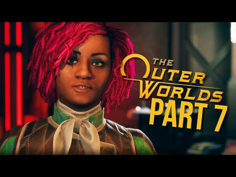 THE OUTER WORLDS Gameplay Walkthrough Part 7 - BROKER (Full Game)