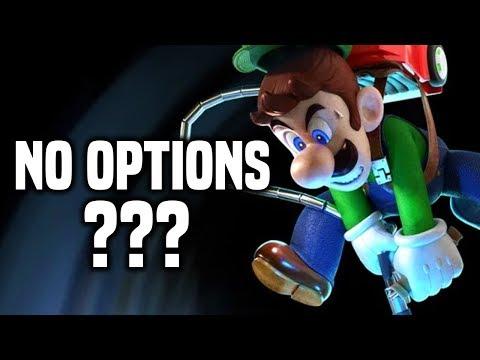 Luigi's Mansion 3 Has No Options?! FULL GAME Nintendo Switch