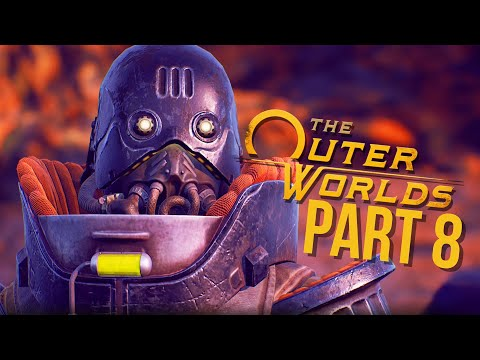 THE OUTER WORLDS Gameplay Walkthrough Part 8 - PRINTING PRESS (Full Game)