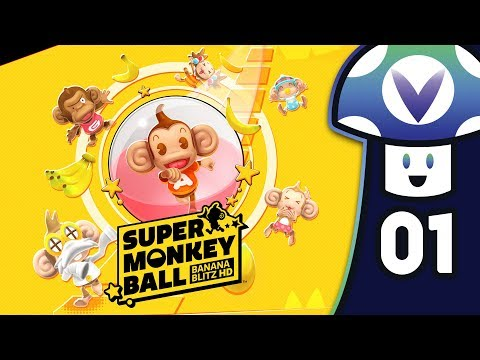 [Vinesauce] Vinny - Super Monkey Ball: Banana Blitz HD (PART 1)