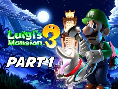 Luigi's Mansion 3 Gameplay Walkthrough Part 1 - Polterpup (Nintendo Switch)