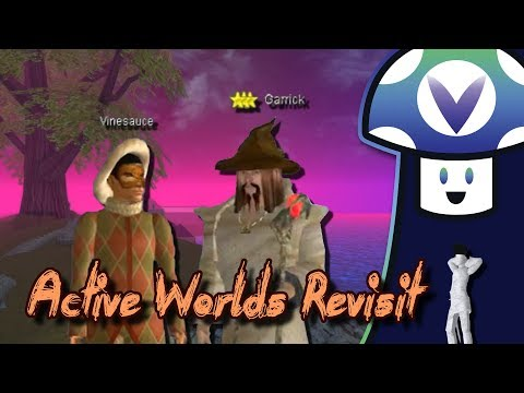 [Vinesauce] Vinny - Active Worlds Revisit (Uncut)