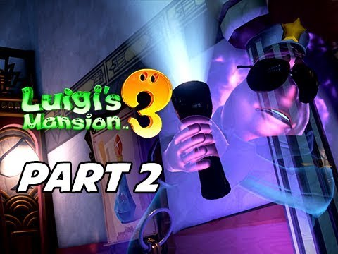 Luigi's Mansion 3 Gameplay Walkthrough Part 2 (Nintendo Switch)