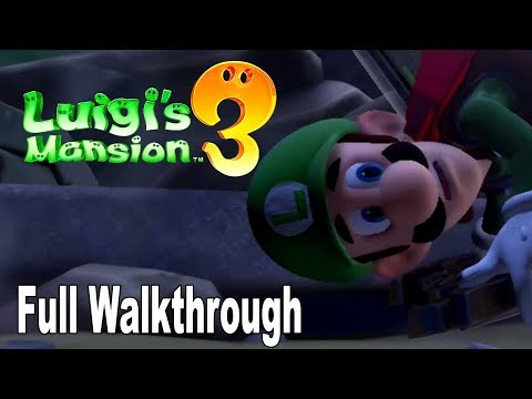 Luigi's Mansion 3 - Full Gameplay Walkthrough No Commentary [HD 1080P]