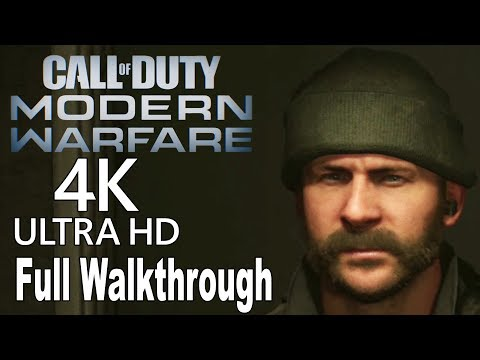 Call of Duty: Modern Warfare (2019) - Full Gameplay Walkthrough No Commentary [4K]