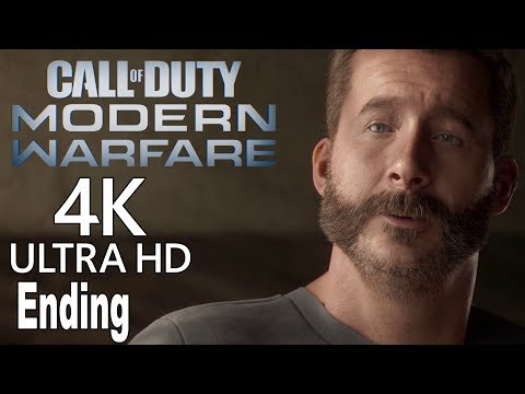 Call of Duty: Modern Warfare (2019) - Ending and Final Boss + Post Credits Scene [4K]