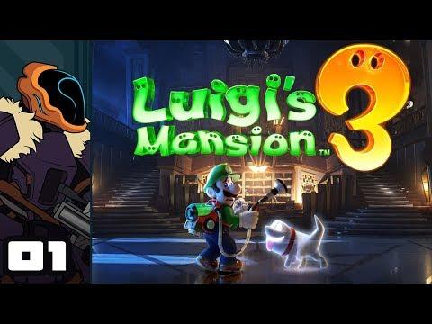 Let's Play Luigi's Mansion 3 - Switch Gameplay Part 1 - Demolition Man