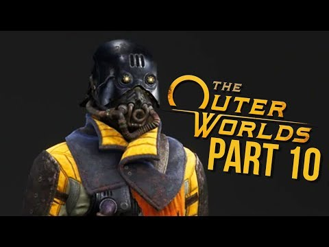 THE OUTER WORLDS Gameplay Walkthrough Part 10 - MSI VS ICONOCLASTS (Full Game)