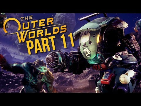 THE OUTER WORLDS Gameplay Walkthrough Part 11 - FELIX COMPANION QUEST & SAM (Full Game)
