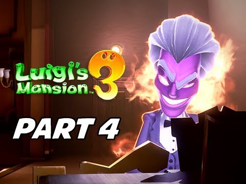 Luigi's Mansion 3 Gameplay Walkthrough Part 4 (Nintendo Switch)