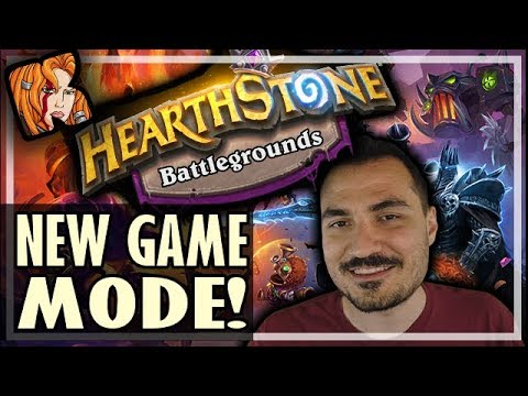 HEARTHSTONE + AUTOCHESS?! = BATTLEGROUNDS