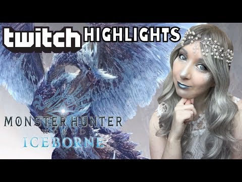 TWITCH HIGHLIGHTS - Monster Hunter World Iceborne Wins / Fails and Reactions!